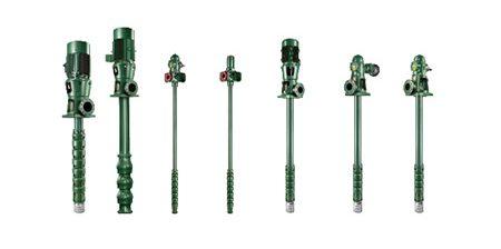 Pompe centrifughe ad asse verticale