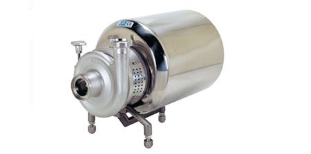 Pompe centrifughe sanitarie