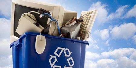 recupero di rifiuti elettronici