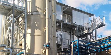 Trattamento di emissioni dal chimico-farmaceutico