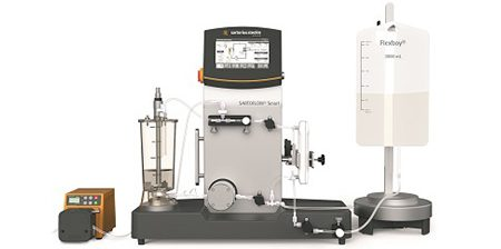 sartorius Drawing, Sartoflow Smart, 1 L Vessel, Sartocon Slice 50