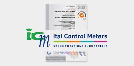 certificazione Ital Control Meters