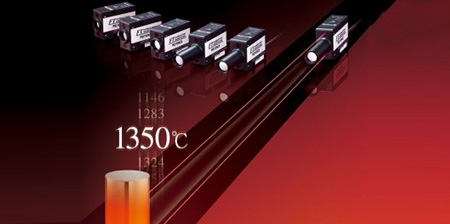 sensori di temperatura ad infrarossi Keyence