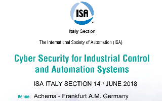 Cyber Security for Industrial Control and Automation Systems