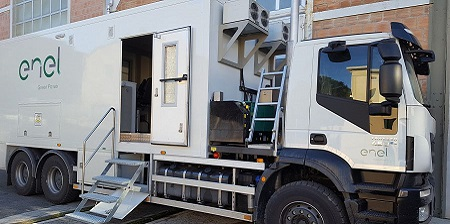Laboratorio Mobile di Enel Green Power