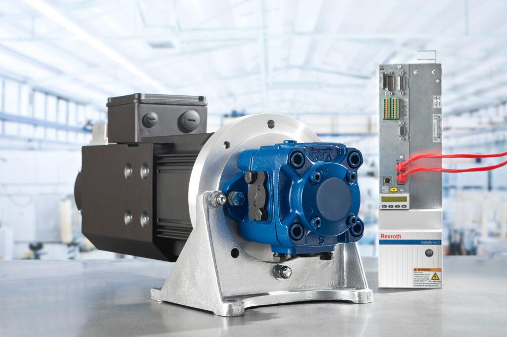 Sistema moto - pompa Sytronix